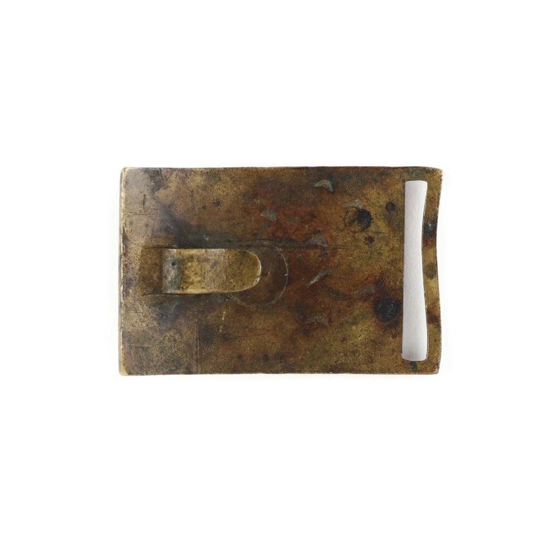 Regulation 1851 Pattern U. S. Army Belt Plate - 2