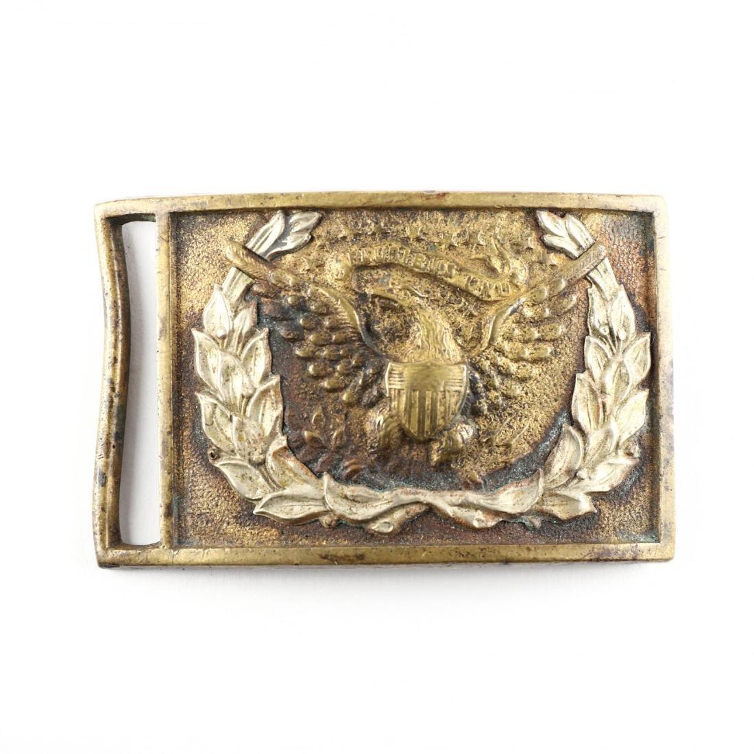 Regulation 1851 Pattern U. S. Army Belt Plate - 3