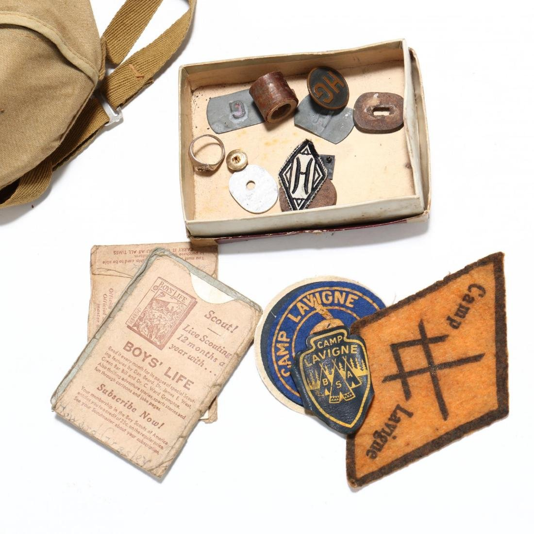 Large Group of Vintage Boy Scout Items - 2
