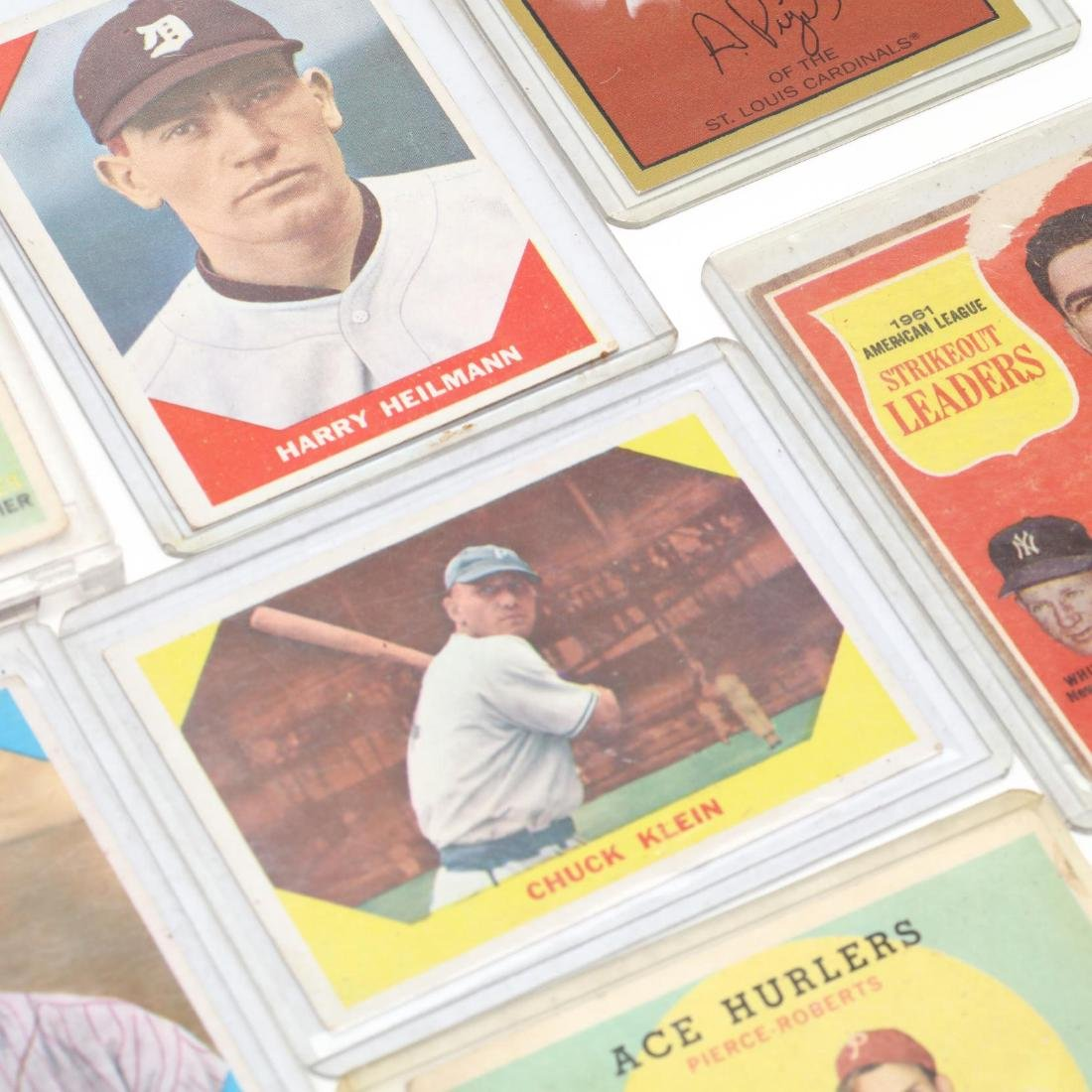 Twelve Baseball Cards, 1970s and Later - 3