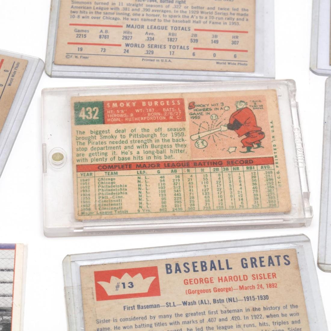 Twelve Baseball Cards, 1970s and Later - 5