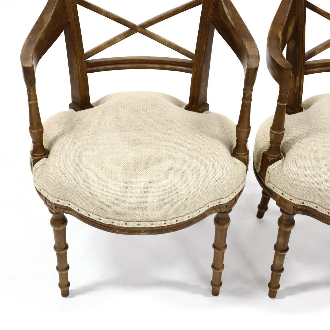 Park Hill Collection, Pair of Regency Style Arm Chairs - 2