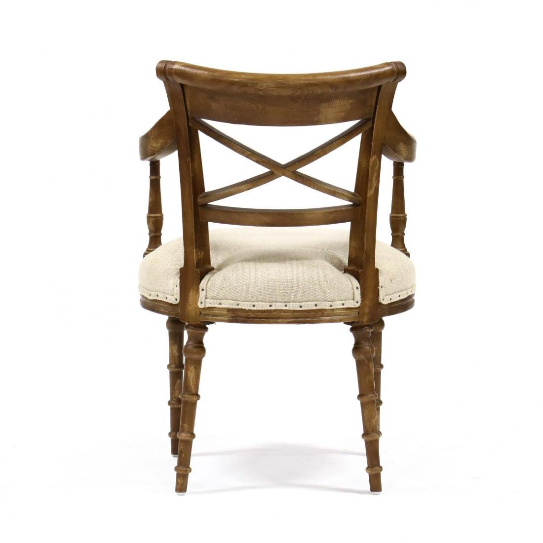Park Hill Collection, Pair of Regency Style Arm Chairs - 3