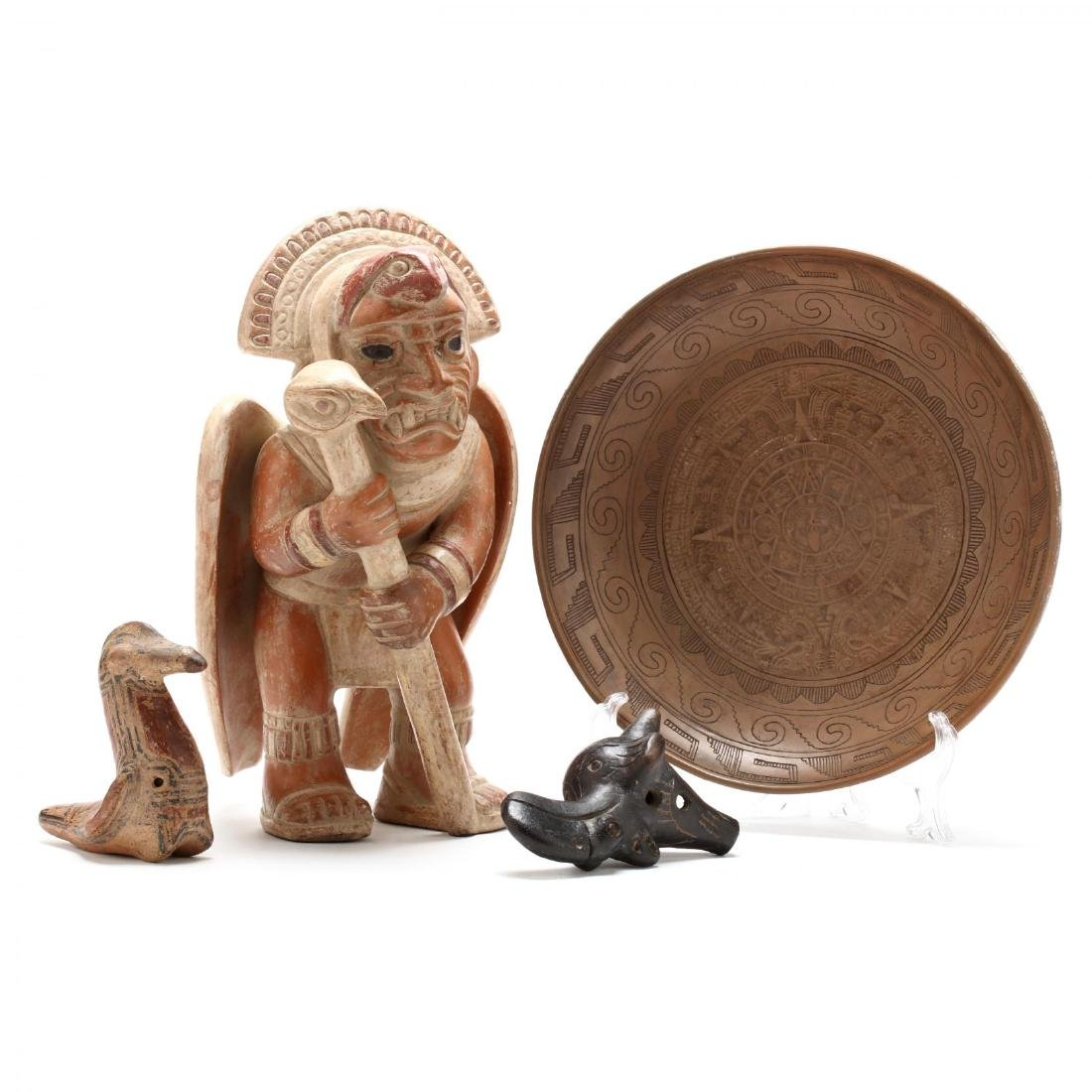 Pre-Columbian Style Pottery Grouping