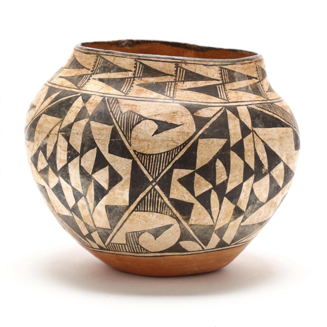 Acoma Pottery Olla - 4