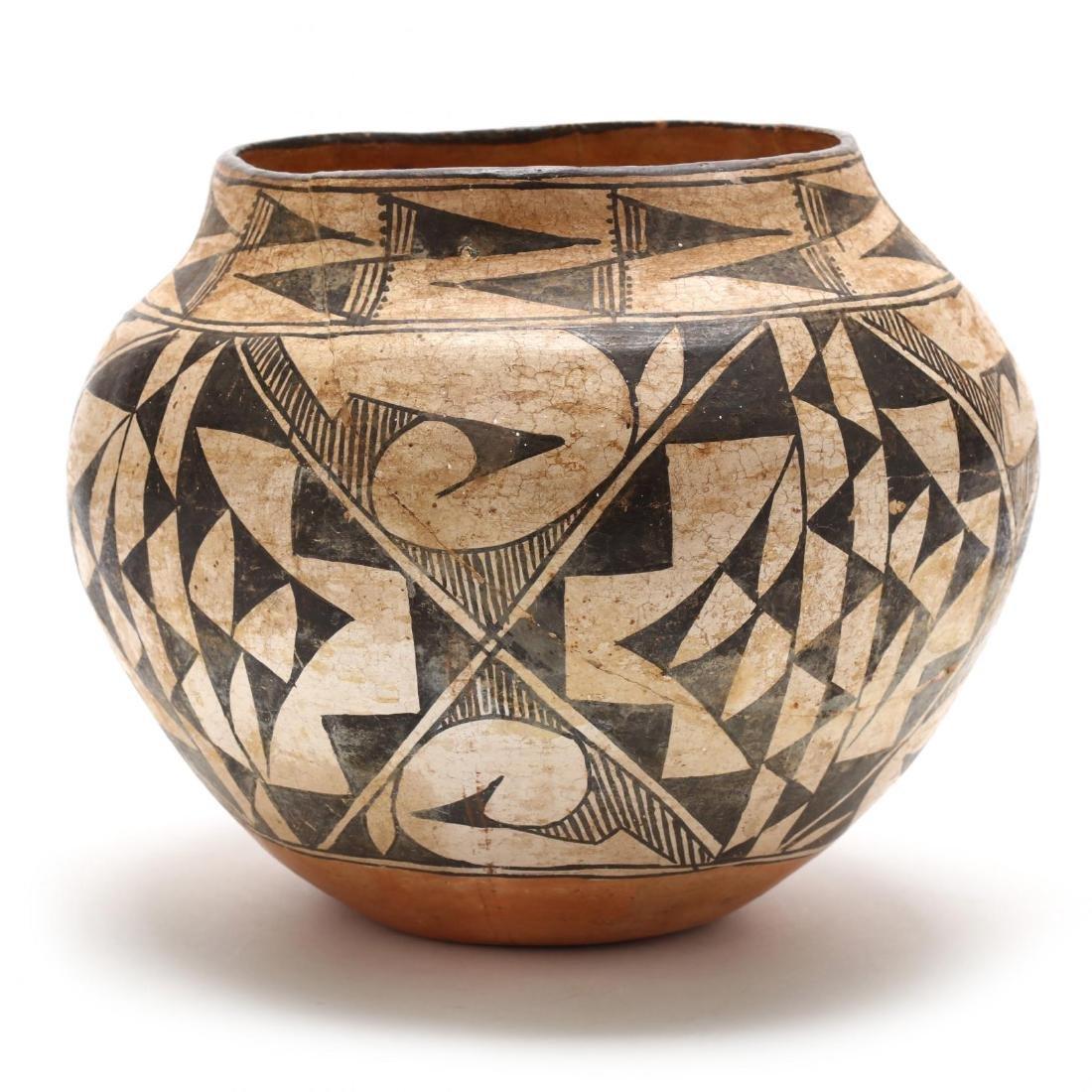 Acoma Pottery Olla - 6