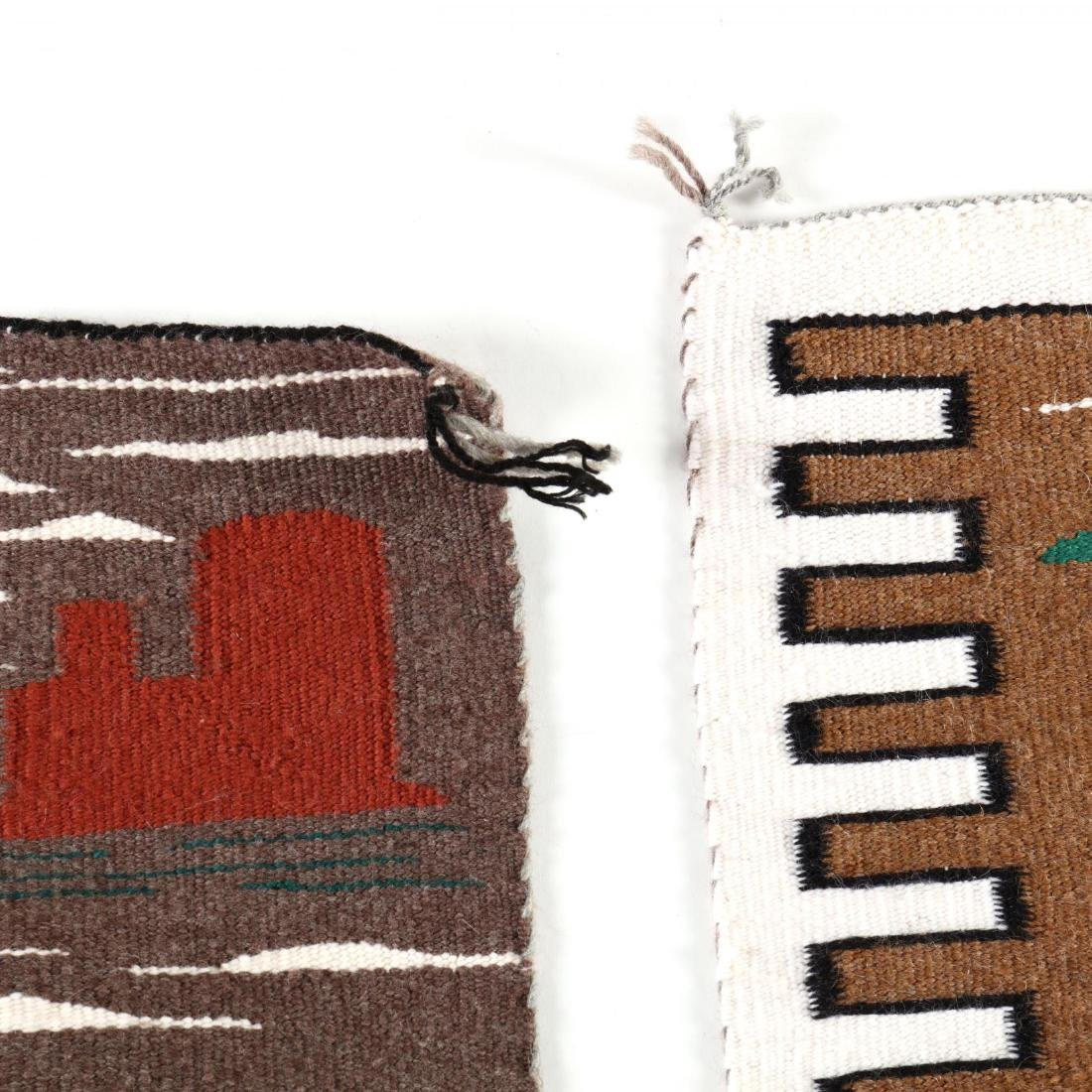 Two Navajo Pictorial Rugs - 2