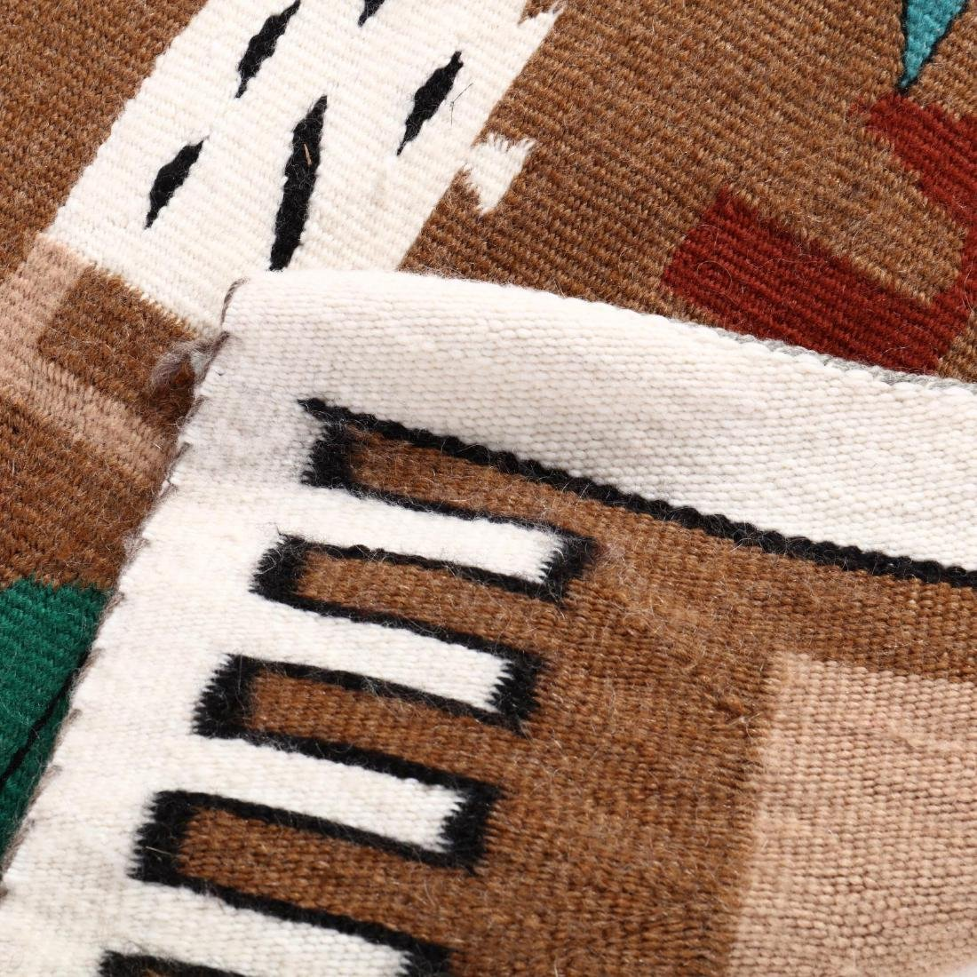 Two Navajo Pictorial Rugs - 5