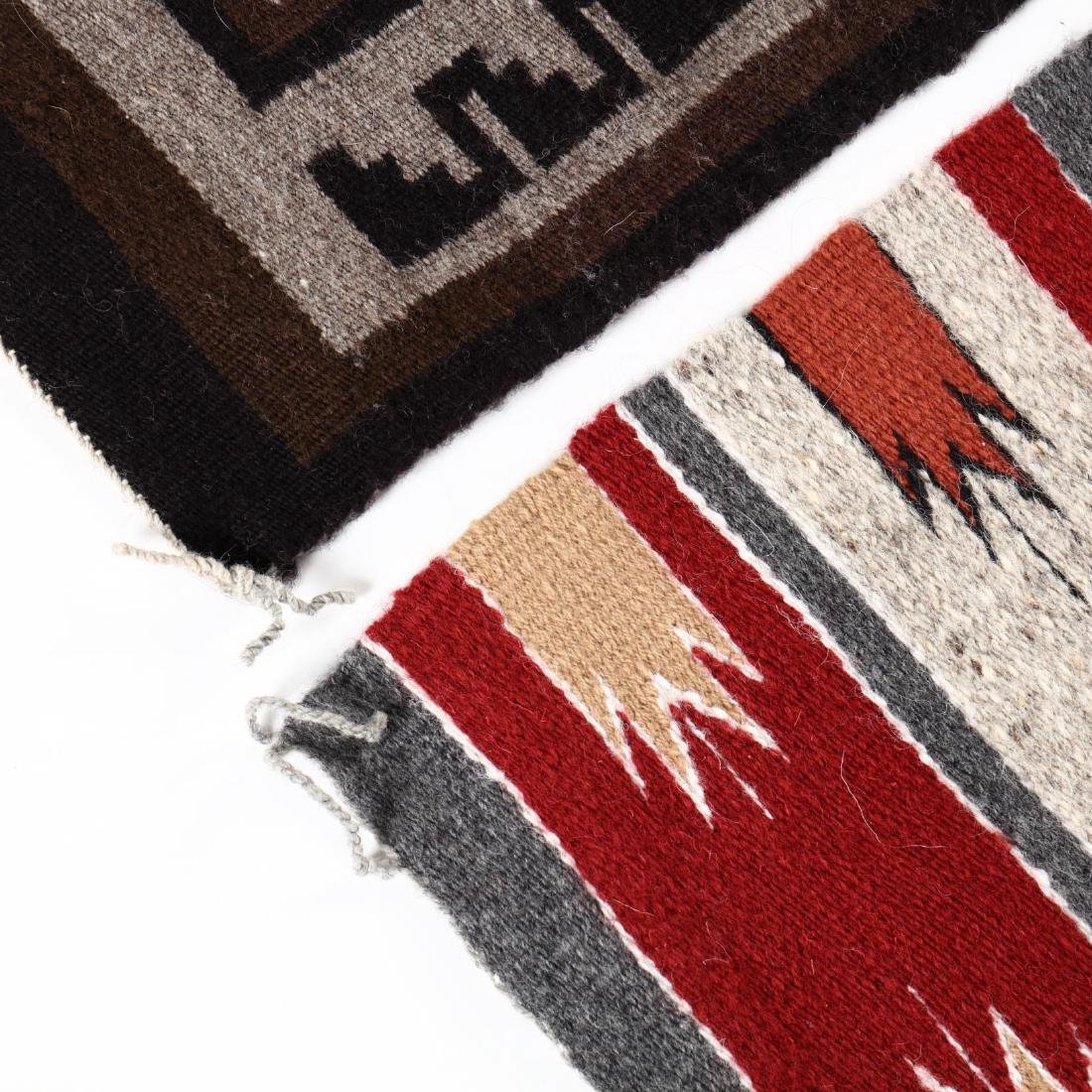 Two Navajo Rugs - 2