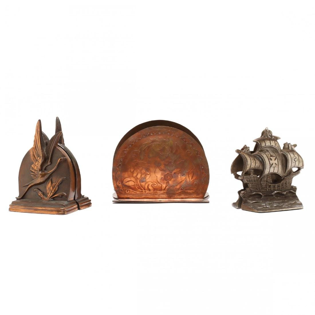 Three Vintage Bookends - 2