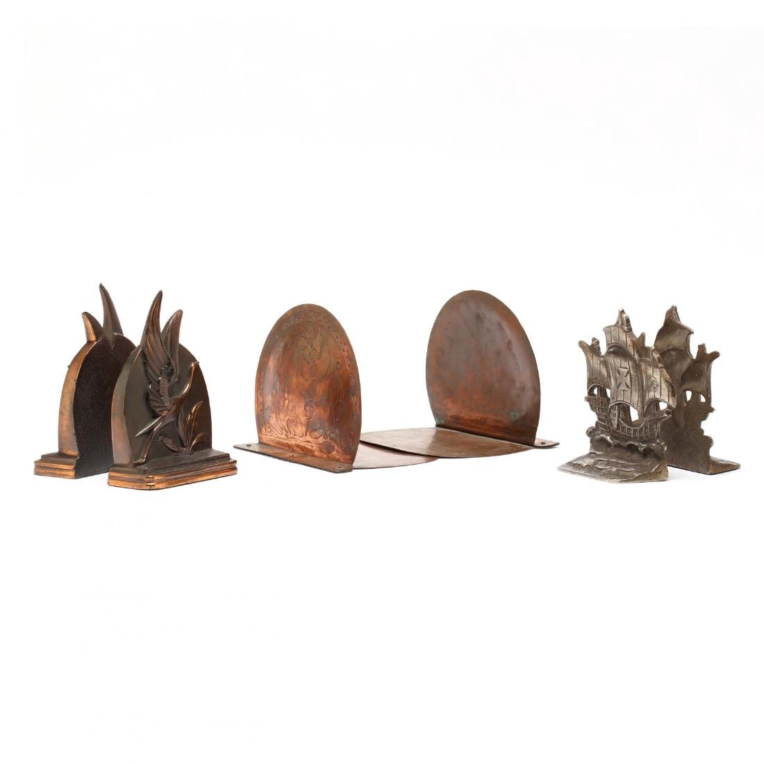 Three Vintage Bookends - 3