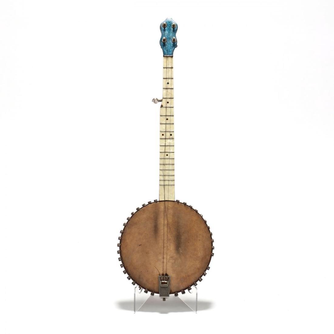 Unmarked Novelty 5-String Open Back Banjo