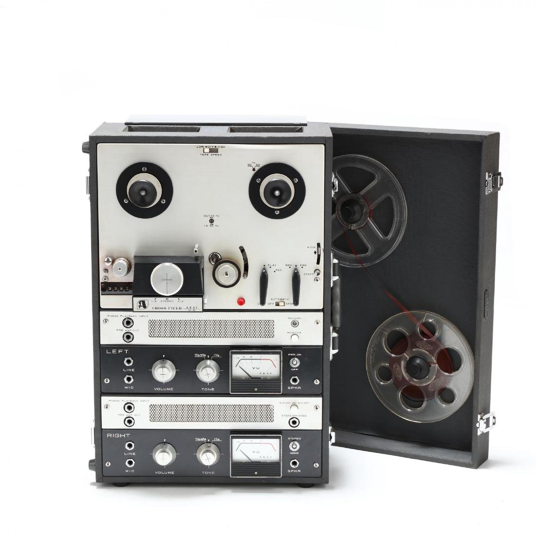 Akai Tape Recorder, and Bang & Olufson Speakers - 2