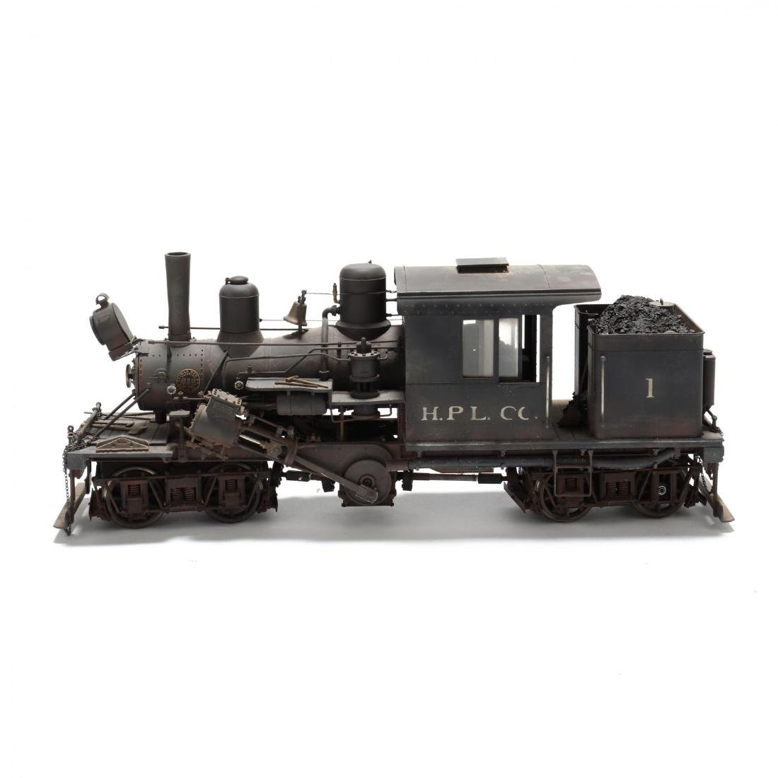 Bachmann Steam Locomotive Climax - 3