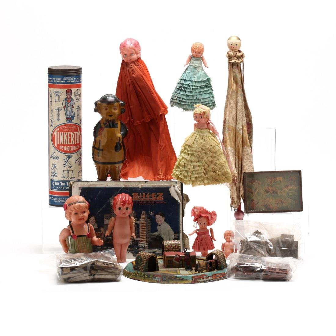 A Group of Vintage Toys