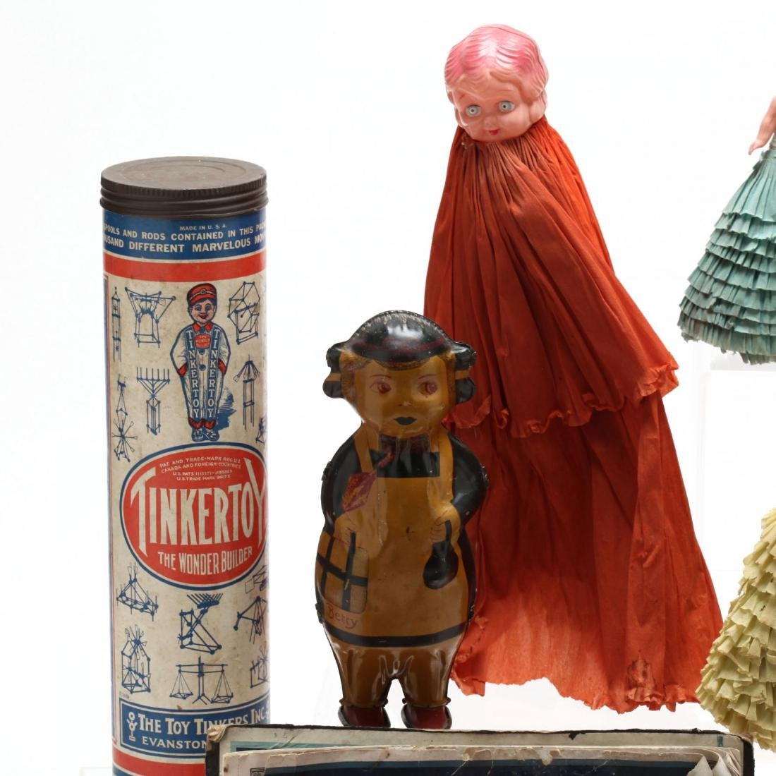 A Group of Vintage Toys - 4