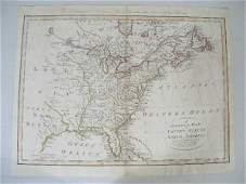 """Thomas Bowen Map, """"A Correct Map of the United State"""