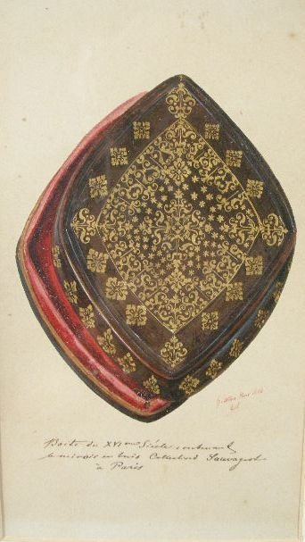 6: G. Saltan, (French, 19th c.), 16th c. Box from the S