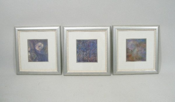 8: Dianne Rodwell (NC), Three Works on Paper,