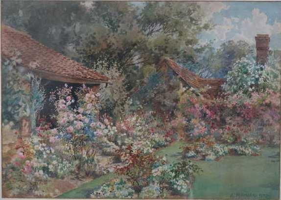 9: Arthur Meyrick (British, 19th/20th c.), English Cott
