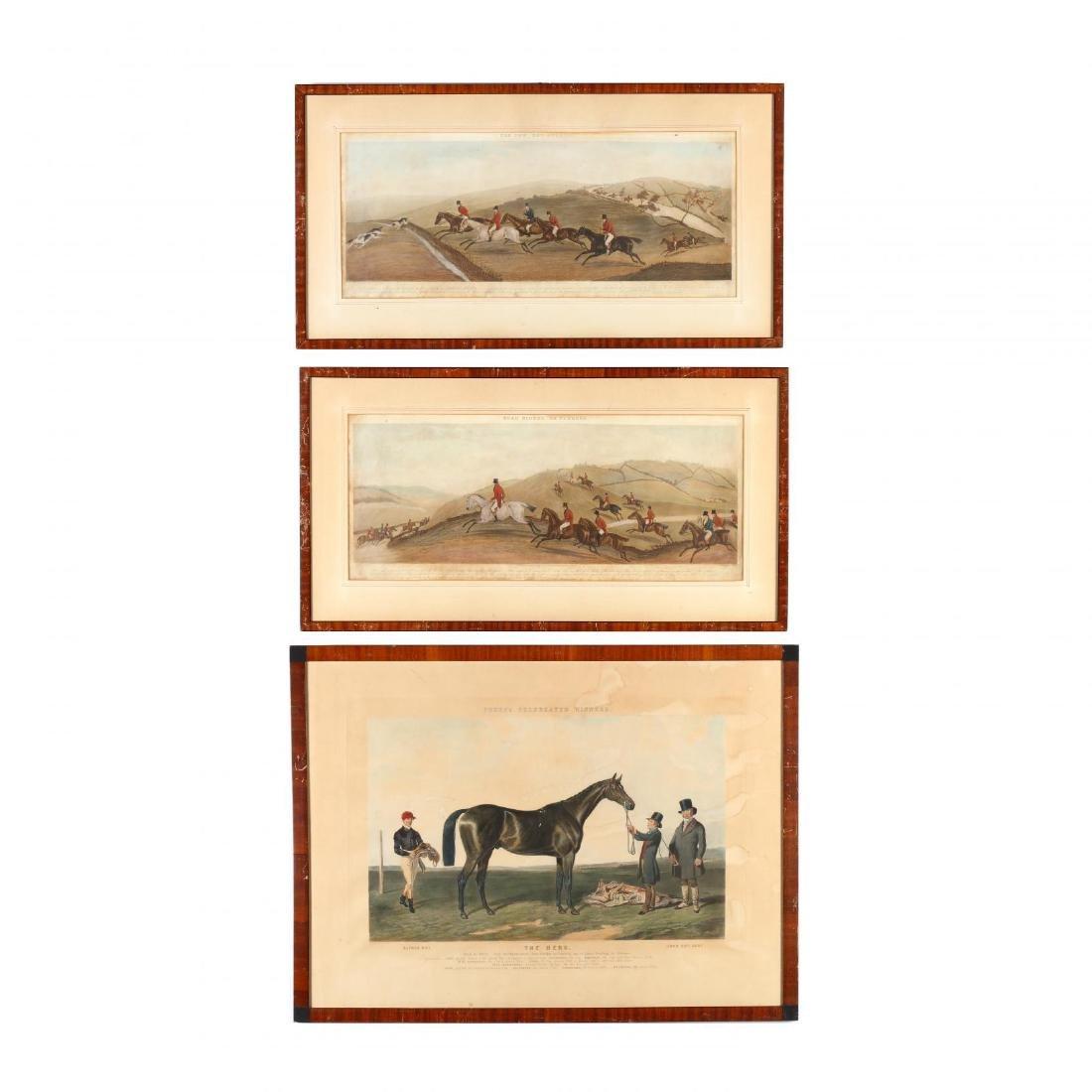 Three 19th-Century English Sporting Prints