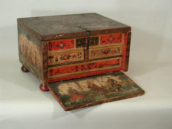 1001: Writing Desk or Escribania, Peru,