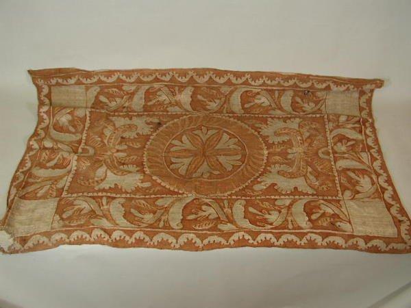 1006: Altar Cloth, 18th c., Peruvian,