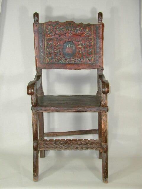 1007: Friar's Arm Chair, Spanish Colonial period,