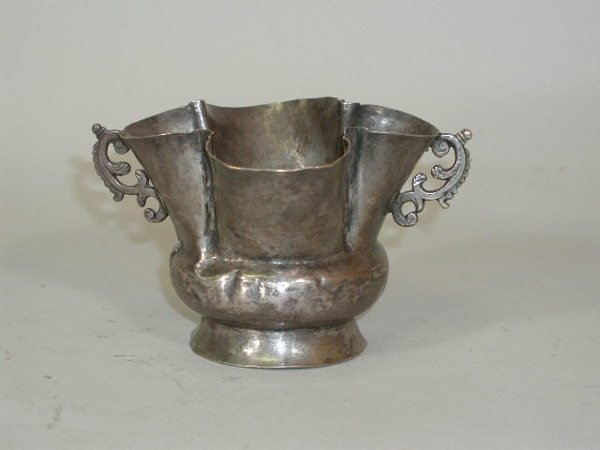 1011: Silver Footed Bowl,