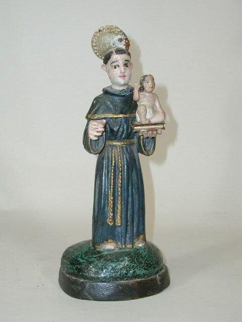 1014: Santos - St. Anthony and Christ Child, 18th c.,