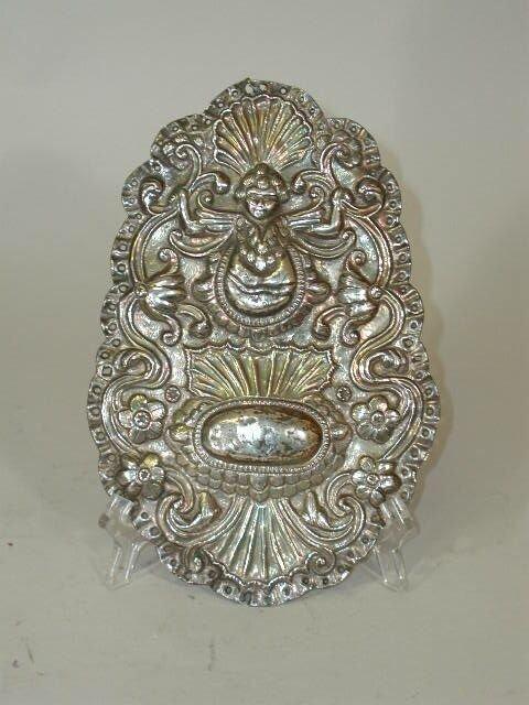 1020: Silver Plaque,