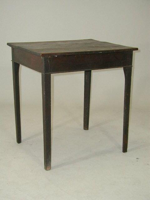 1216: Rare VA or NC Serving Table, 18th c.,