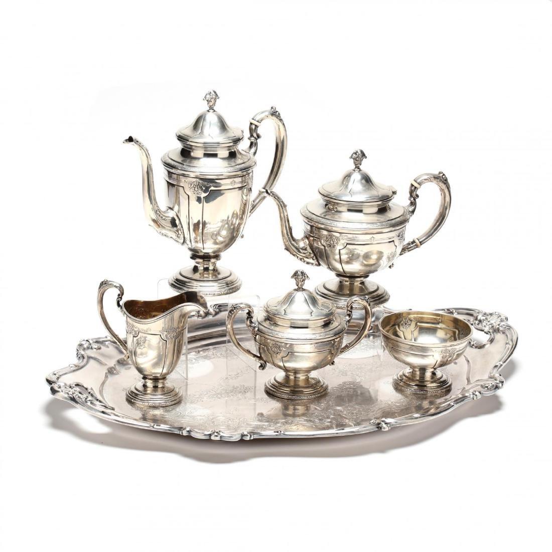 "Towle ""Louis XIV"" Sterling Silver Tea & Coffee Service"
