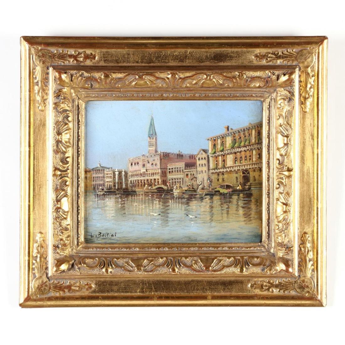 Karl Kaufmann (Austrian, 1843-1901), Venice Canal View