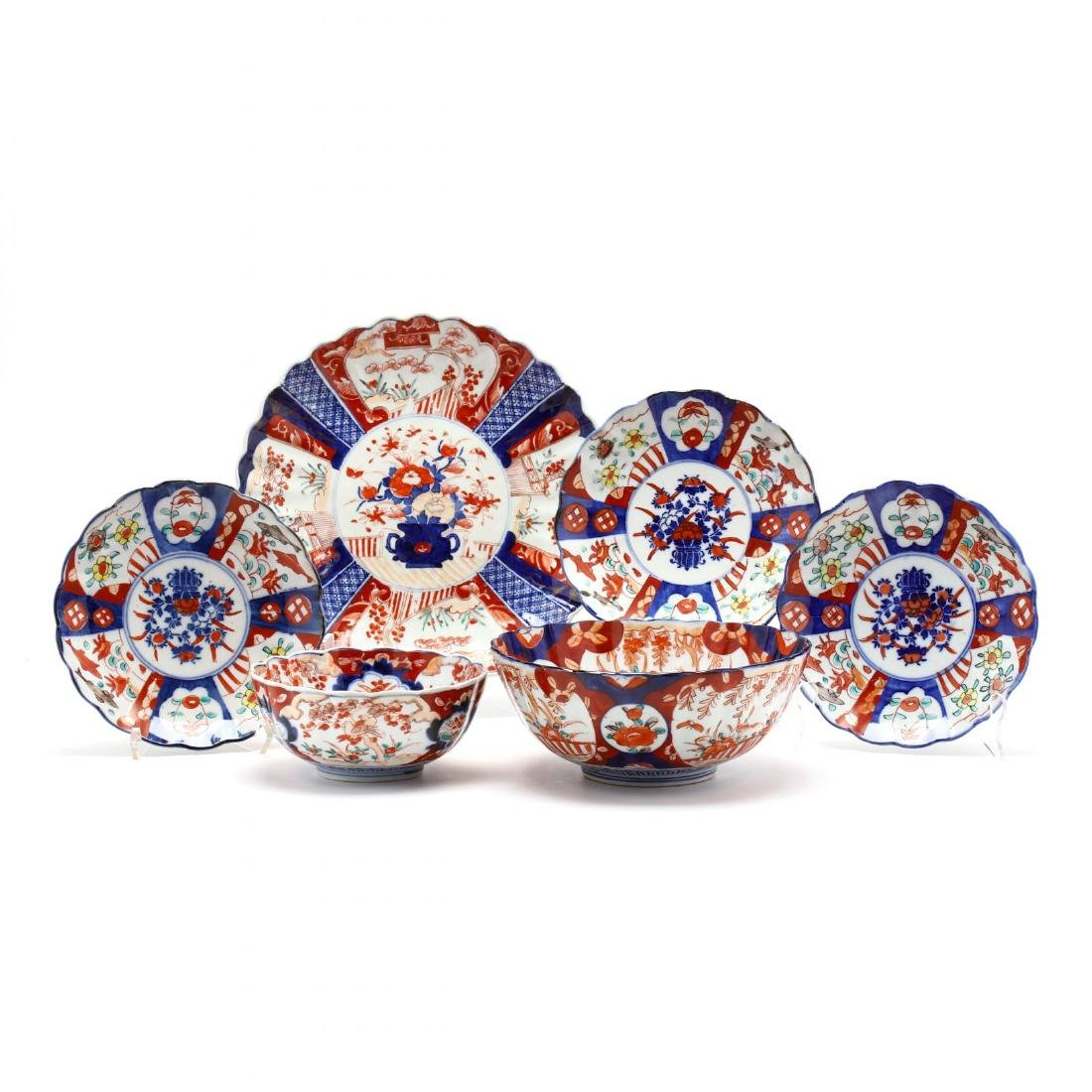 A Group of Imari Porcelain