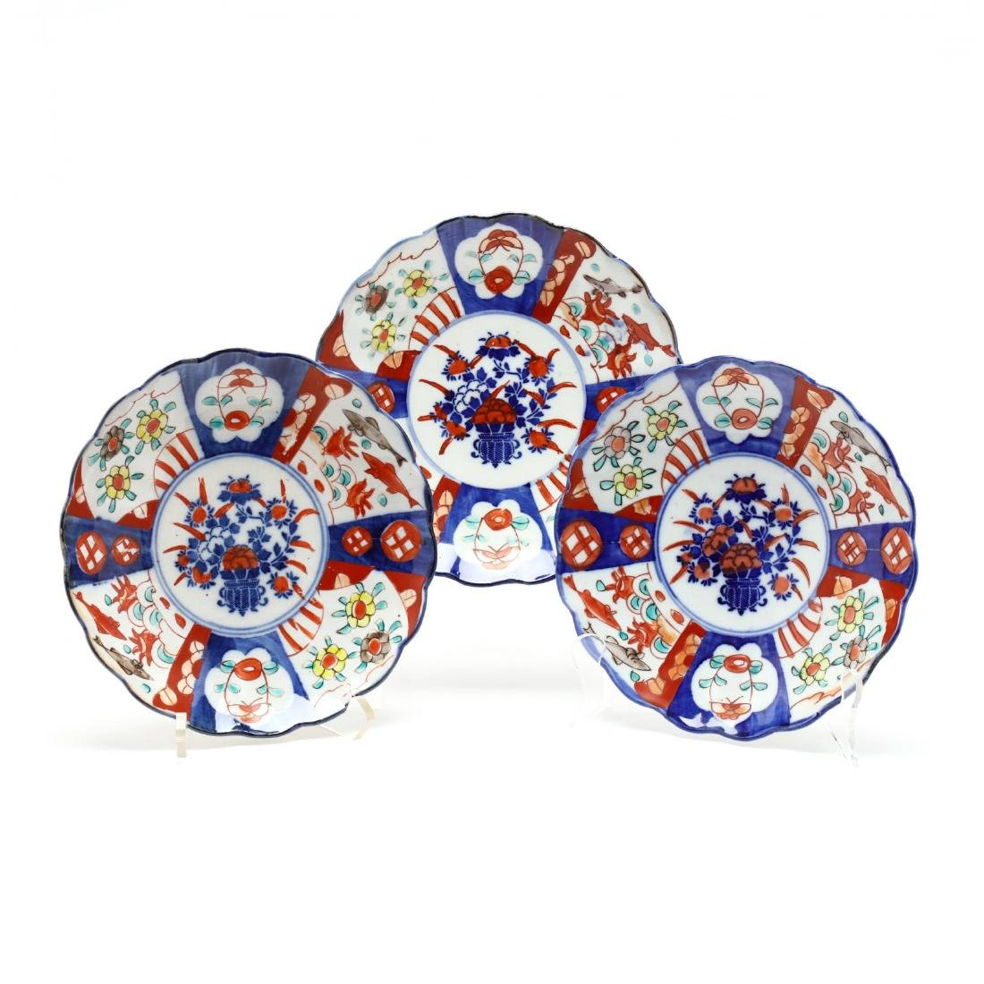 A Group of Imari Porcelain - 2