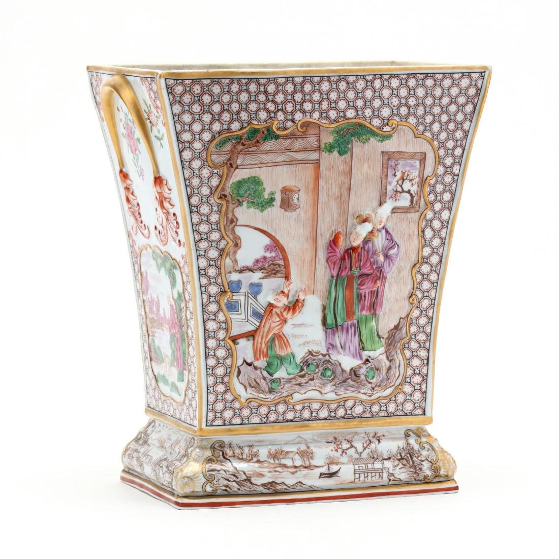 An Antique Chinese Style Bough Vase