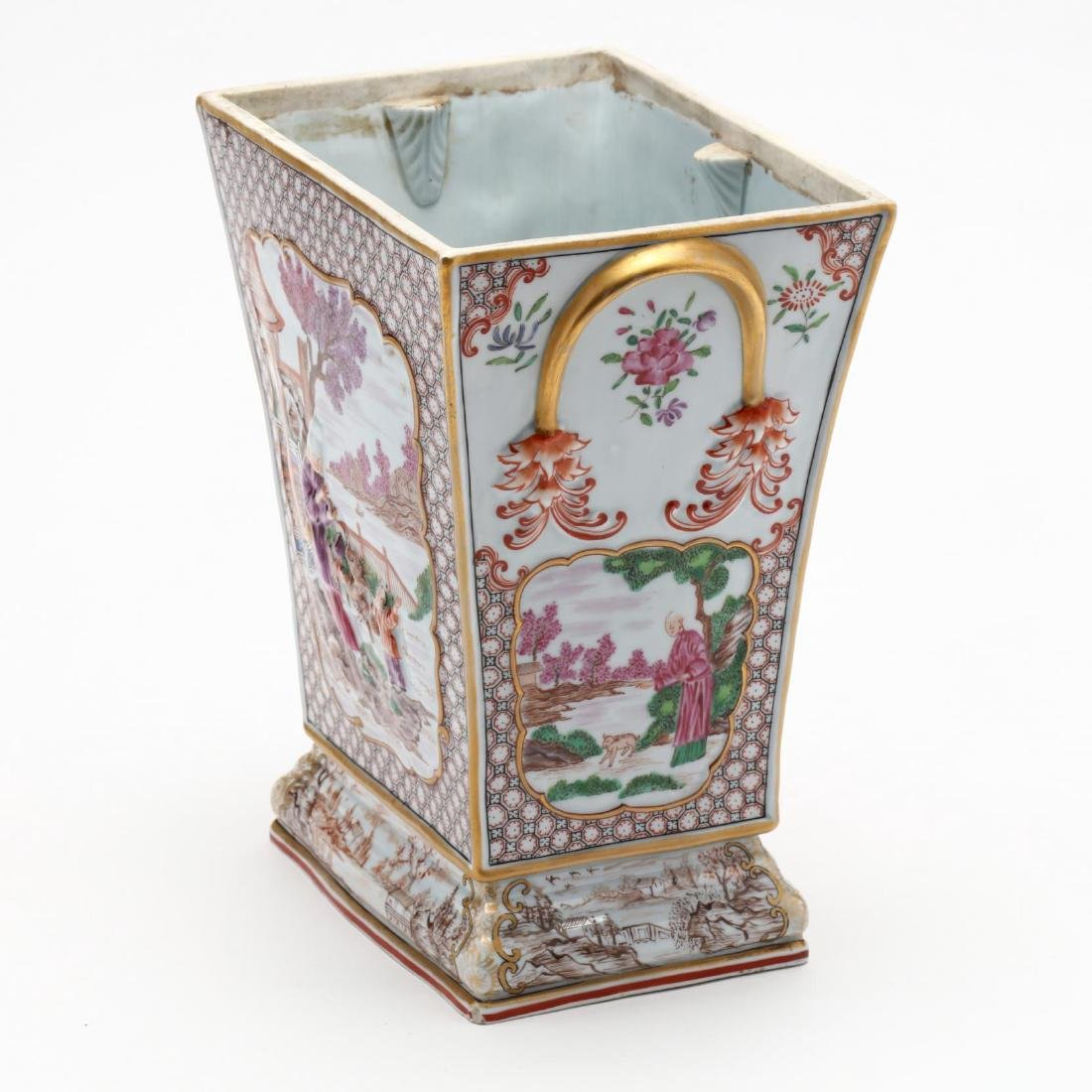 An Antique Chinese Style Bough Vase - 4