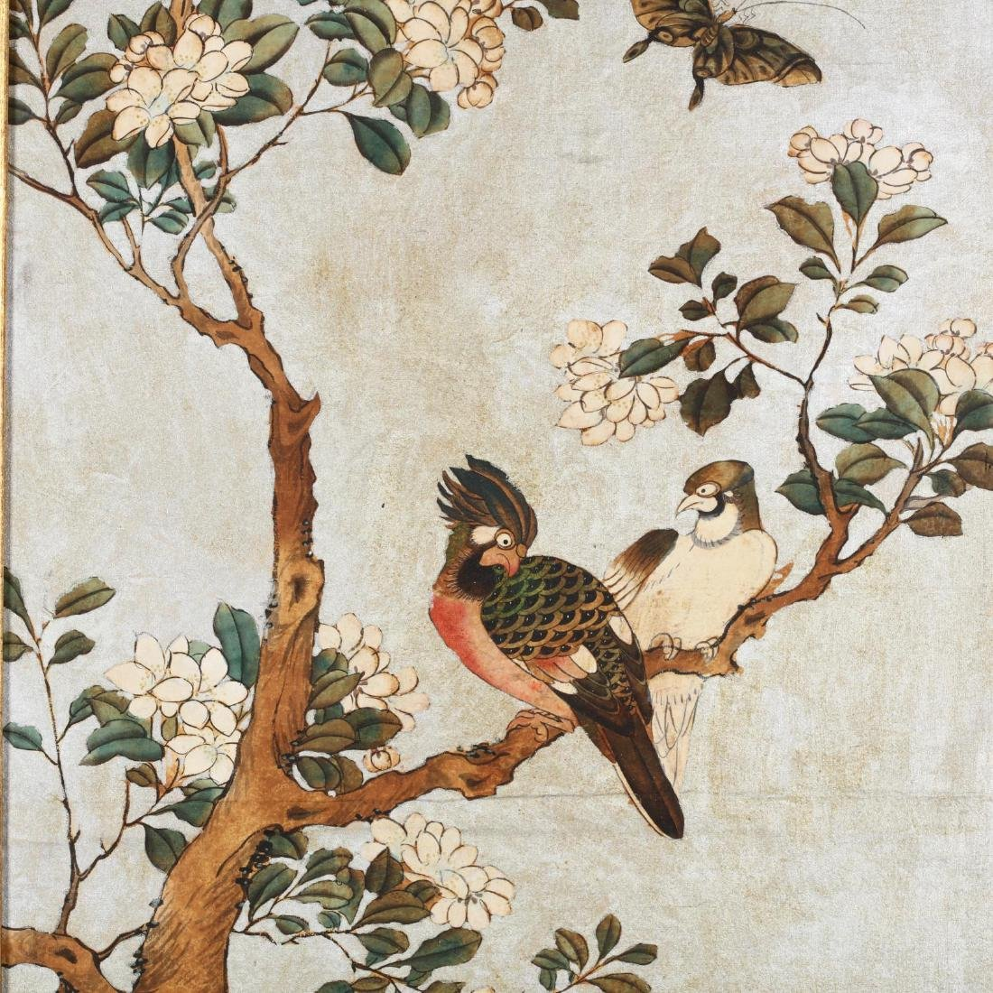 A Pair of Chinoiserie Paintings - 2