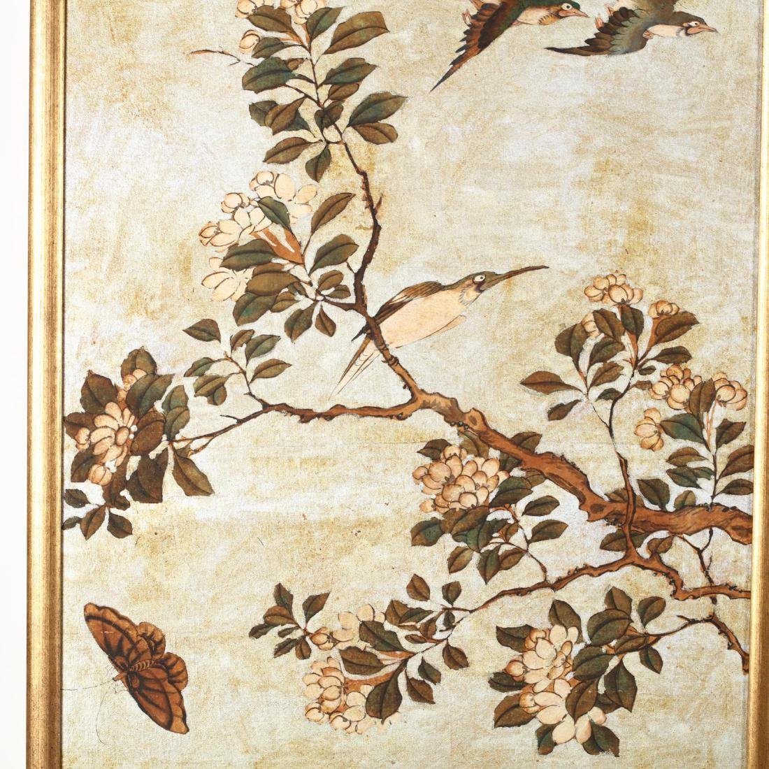 A Pair of Chinoiserie Paintings - 3