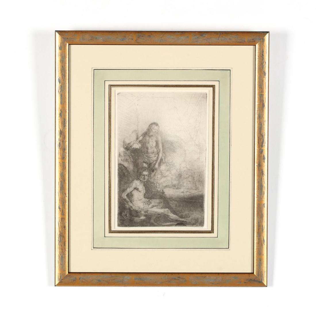Rembrandt van Rijn (Dutch, 1606-1669),  Nude Man Seated