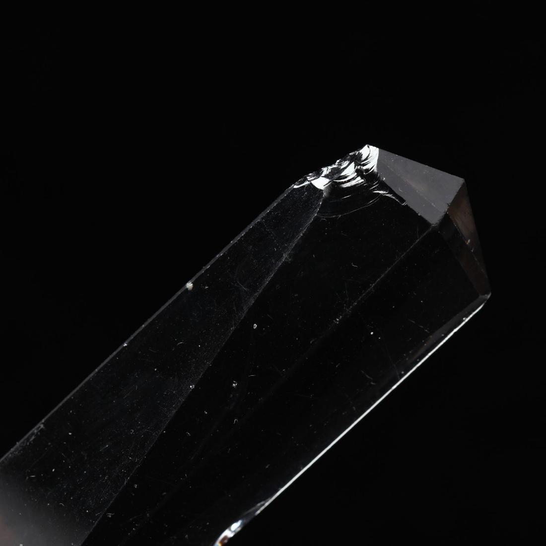 Pair of American Brilliant Period Cut Glass Mantel - 4