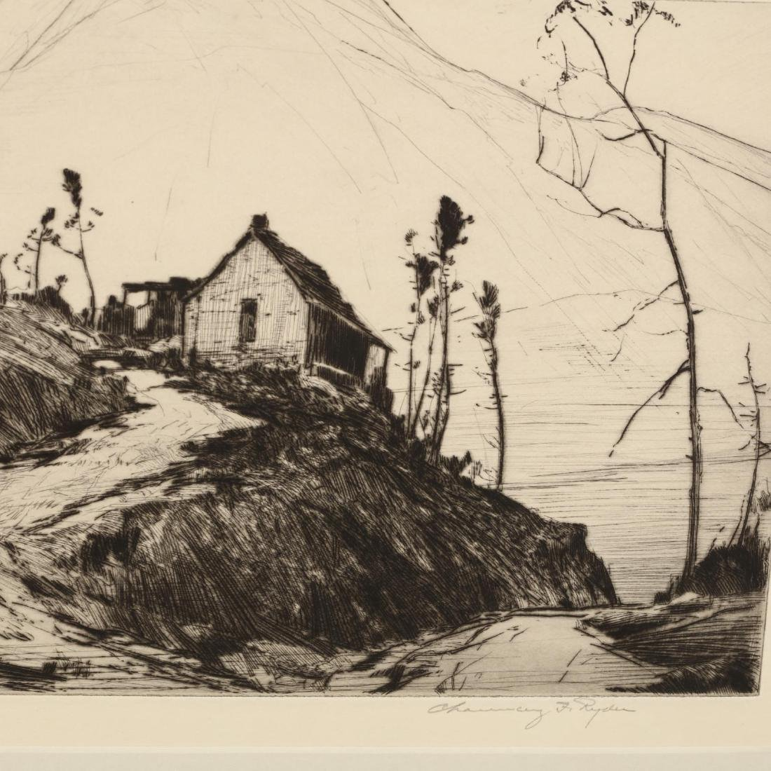Two American Landscape Etchings - 2