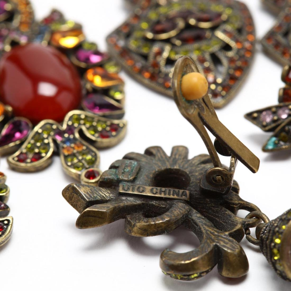 Large Group of Designer Costume Jewelry, signed - 5