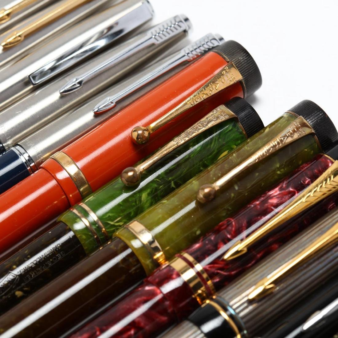 Collection of Parker's Fountain Pens - 4