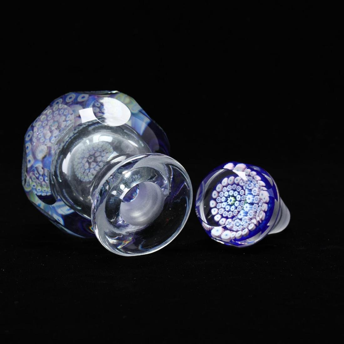 Fine Millefiori Paperweight Ink Bottle - 3
