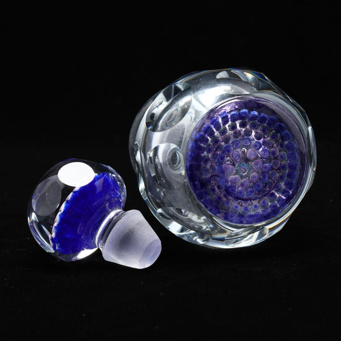 Fine Millefiori Paperweight Ink Bottle - 4