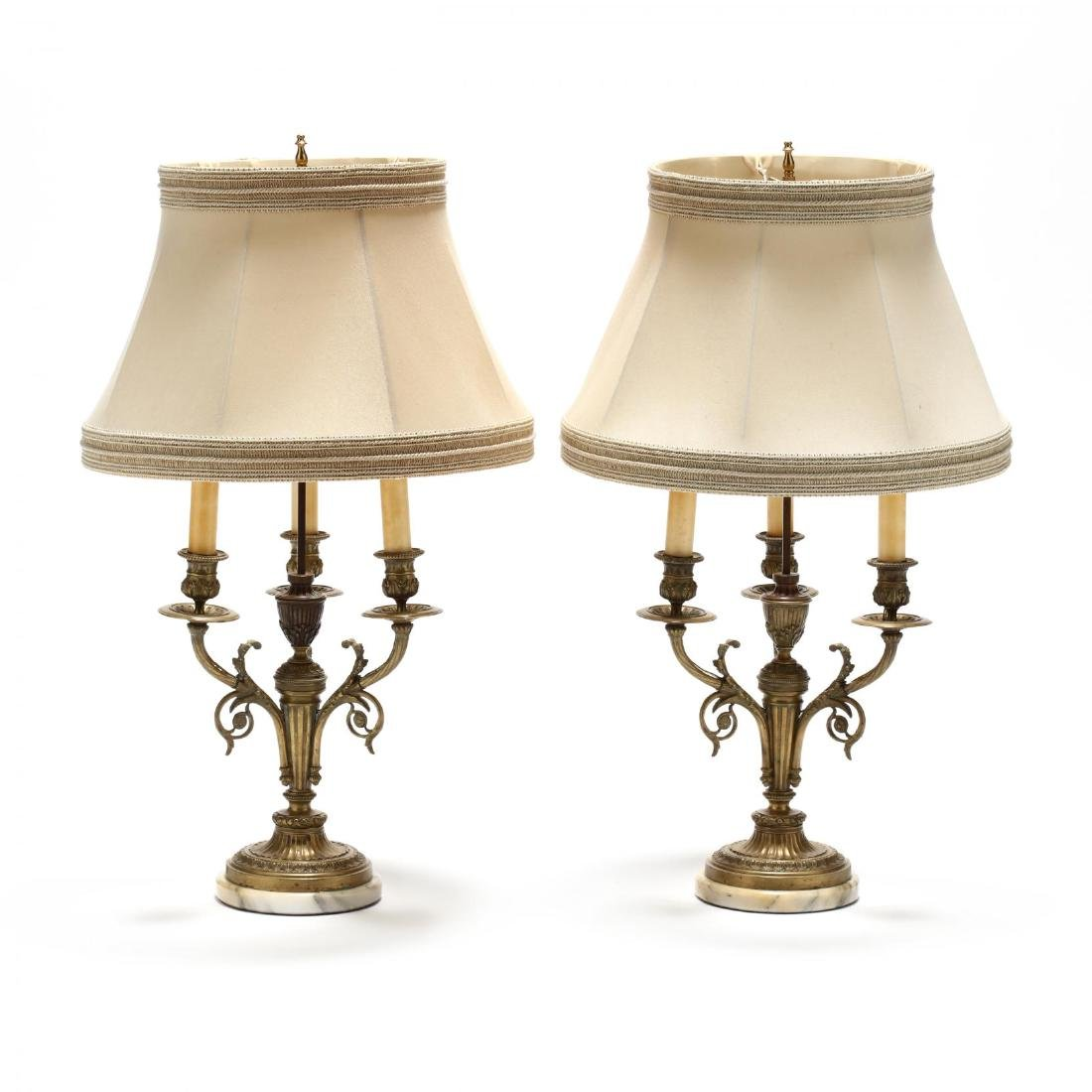 Pair of French Classical Style Table Lamps