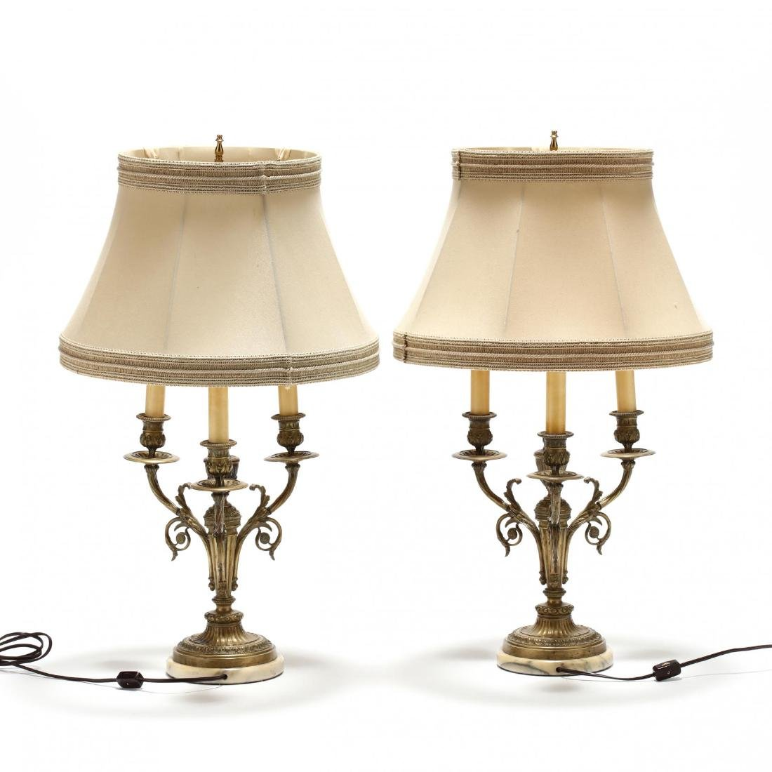 Pair of French Classical Style Table Lamps - 3