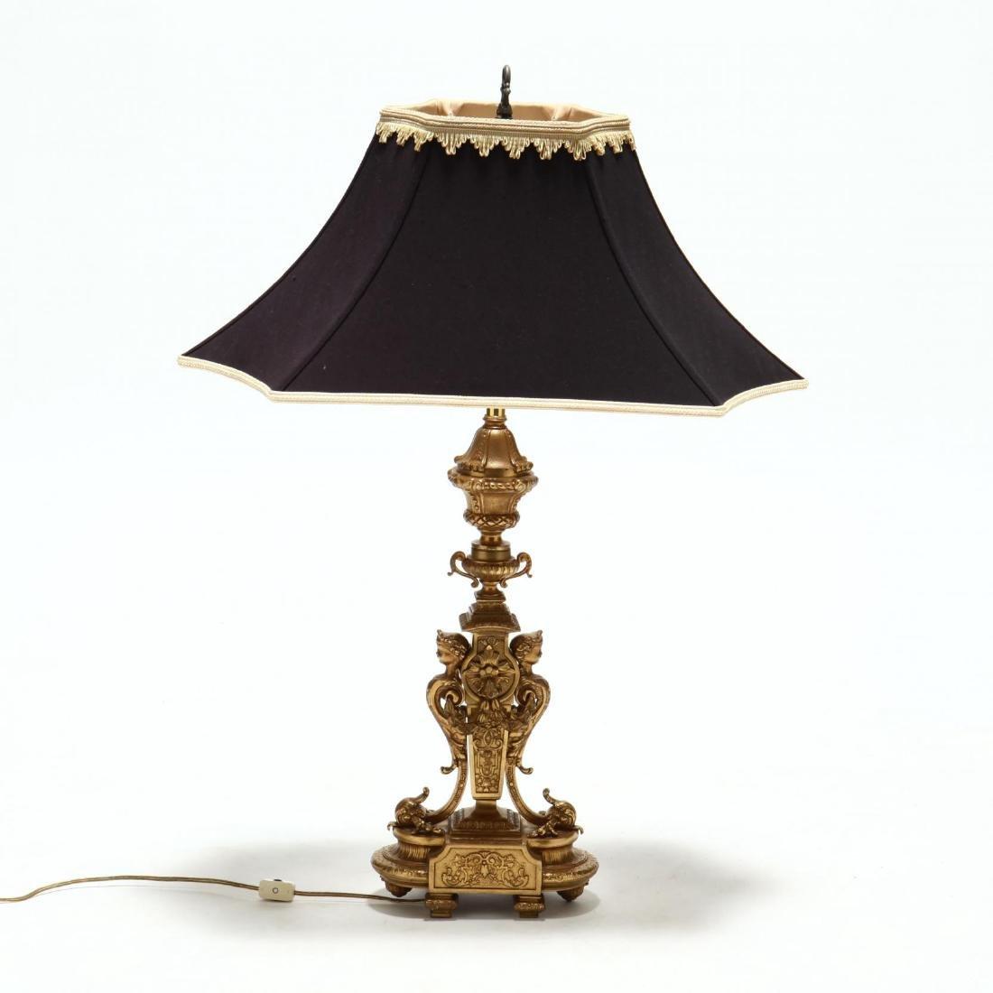 Marbro Lamp Co., Italian Renaissance Style Table Lamp - 2